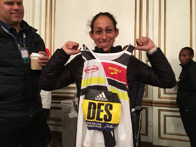 Desiree Linden makes history for American women